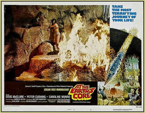 AT THE EARTH'S GORE(1976) LOBBY CARD 8