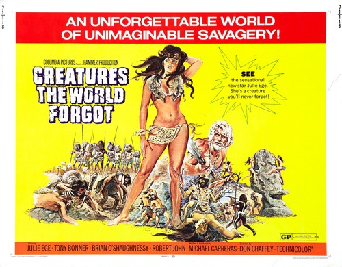 CREATURES THE WORLD FORGOT(1971) FILM POSTER 1