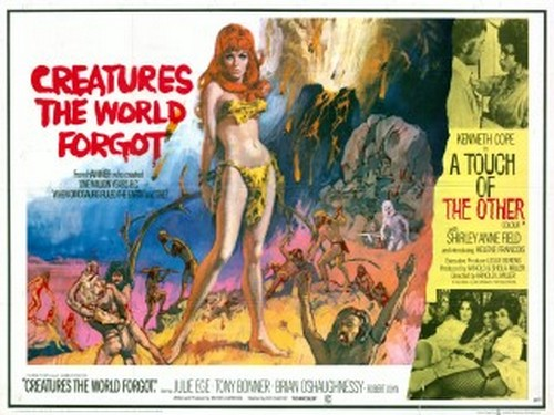 CREATURES THE WORLD FORGOT(1971) FILM POSTER 6