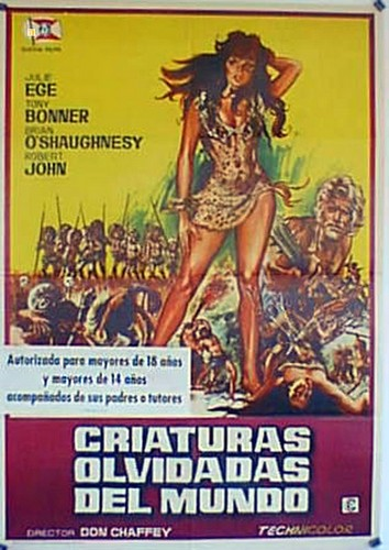 CREATURES THE WORLD FORGOT(1971) FILM POSTER 7