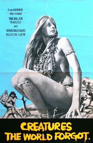 CREATURES THE WORLD FORGOT(1971) FILM POSTER 9