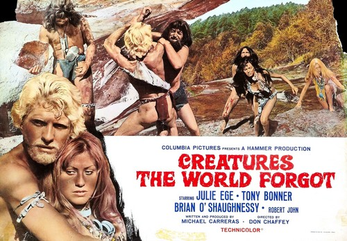 CREATURES THE WORLD FORGOT(1971) LOBBY CARD 1