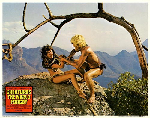 CREATURES THE WORLD FORGOT(1971) LOBBY CARD 10