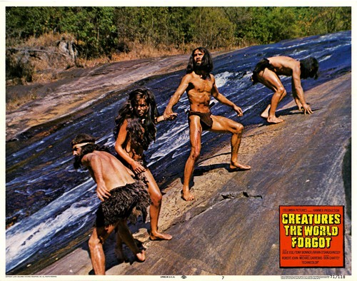 CREATURES THE WORLD FORGOT(1971) LOBBY CARD 11