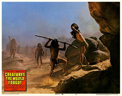 CREATURES THE WORLD FORGOT(1971) LOBBY CARD 12