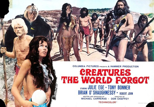 CREATURES THE WORLD FORGOT(1971) LOBBY CARD 6