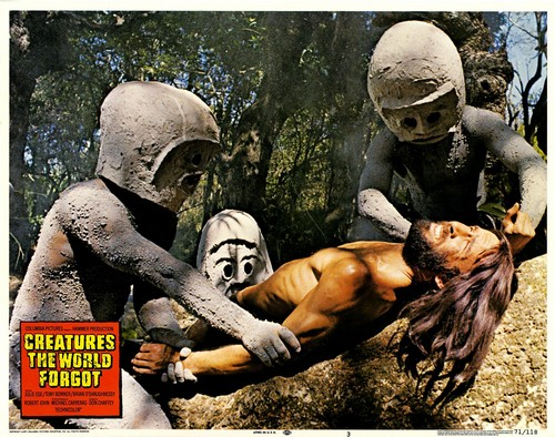 CREATURES THE WORLD FORGOT(1971) LOBBY CARD 8