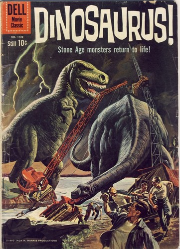 DINOSAURUS DELL COMICS