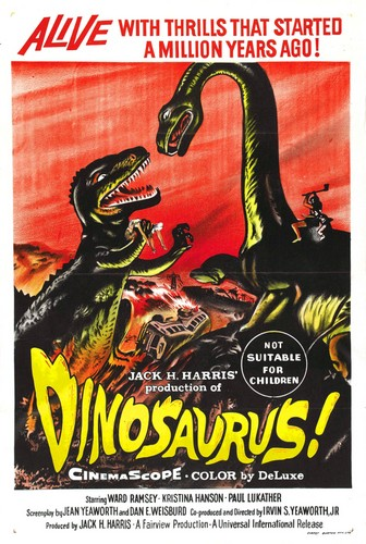 DINOSAURUS FILM POSTER 1