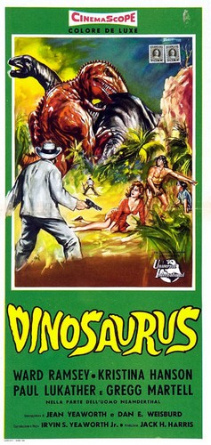 DINOSAURUS FILM POSTER 10