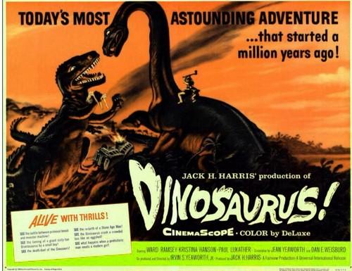DINOSAURUS FILM POSTER 3