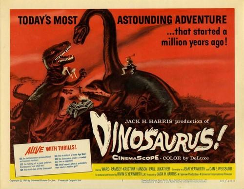 DINOSAURUS FILM POSTER 4