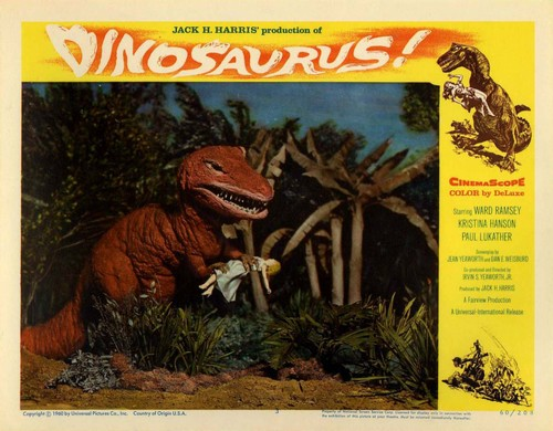 DINOSAURUS LOBBY CARD (1)