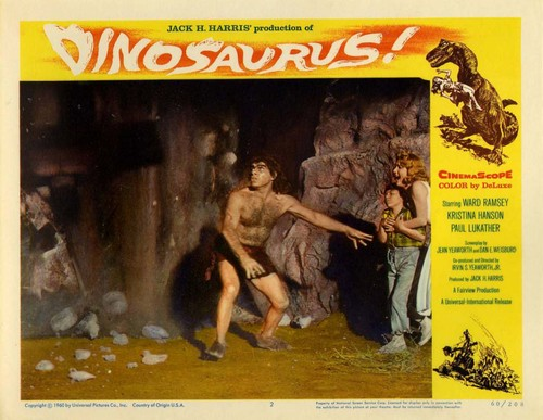 DINOSAURUS LOBBY CARD (2)