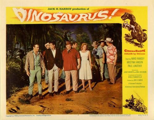 DINOSAURUS LOBBY CARD (4)