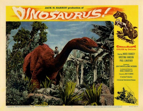 DINOSAURUS LOBBY CARD (7)