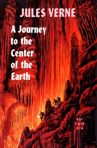 JOURNEY TO THE CENTER OF THE EARTH BOOK COVER 2