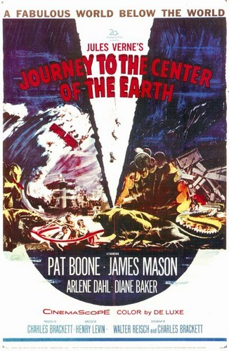 JOURNEY TO THE CENTER OF THE EARTH(1959)FILM POSTER 1