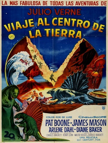 JOURNEY TO THE CENTER OF THE EARTH(1959)FILM POSTER 10