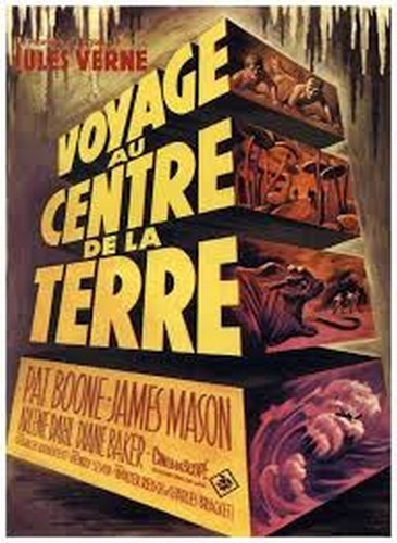 JOURNEY TO THE CENTER OF THE EARTH(1959)FILM POSTER 11