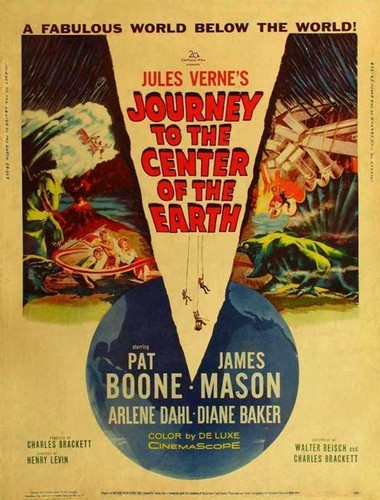 JOURNEY TO THE CENTER OF THE EARTH(1959)FILM POSTER 2