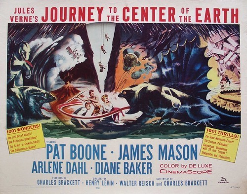 JOURNEY TO THE CENTER OF THE EARTH(1959)FILM POSTER 3