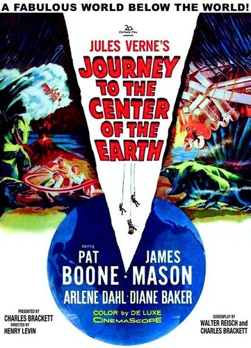 JOURNEY TO THE CENTER OF THE EARTH(1959)FILM POSTER 4