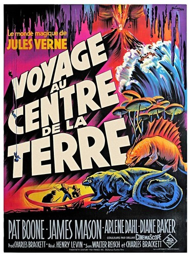 JOURNEY TO THE CENTER OF THE EARTH(1959)FILM POSTER 6