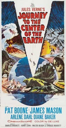 JOURNEY TO THE CENTER OF THE EARTH(1959)FILM POSTER 7