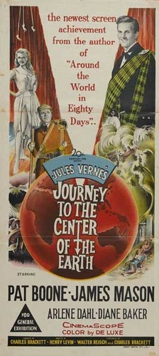 JOURNEY TO THE CENTER OF THE EARTH(1959)FILM POSTER 9