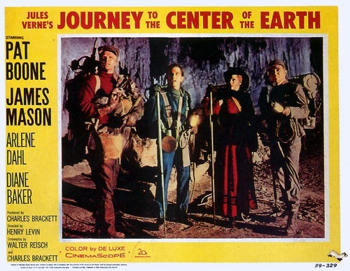 JOURNEY TO THE CENTER OF THE EARTH(1959)LOBBY CARD 1