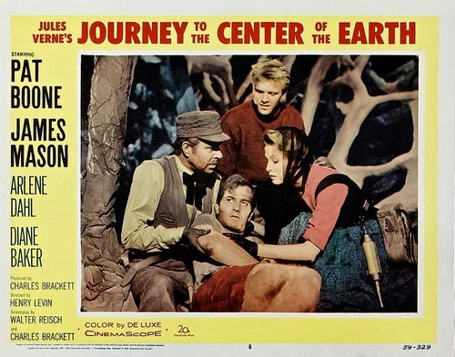 JOURNEY TO THE CENTER OF THE EARTH(1959)LOBBY CARD 2