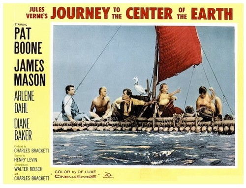 JOURNEY TO THE CENTER OF THE EARTH(1959)LOBBY CARD 3