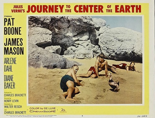 JOURNEY TO THE CENTER OF THE EARTH(1959)LOBBY CARD 4