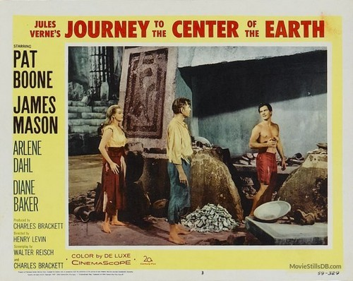 JOURNEY TO THE CENTER OF THE EARTH(1959)LOBBY CARD 8