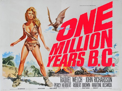 ONE MILLION YEARS B.C.(1966) FILM POSTER 1