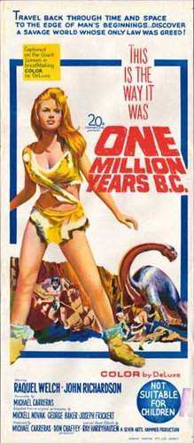 ONE MILLION YEARS B.C.(1966) FILM POSTER 10
