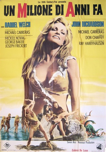 ONE MILLION YEARS B.C.(1966) FILM POSTER 11