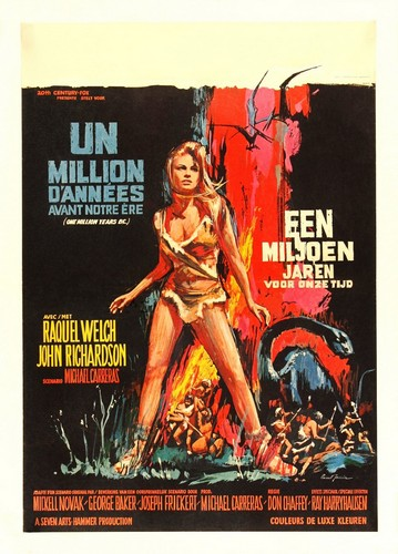 ONE MILLION YEARS B.C.(1966) FILM POSTER 12