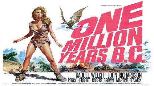ONE MILLION YEARS B.C.(1966) FILM POSTER 2