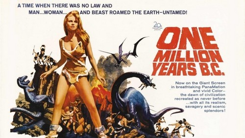 ONE MILLION YEARS B.C.(1966) FILM POSTER 4