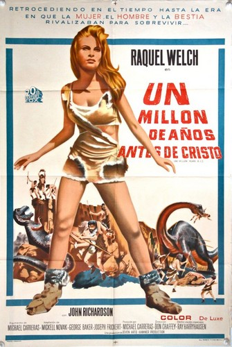 ONE MILLION YEARS B.C.(1966) FILM POSTER 6