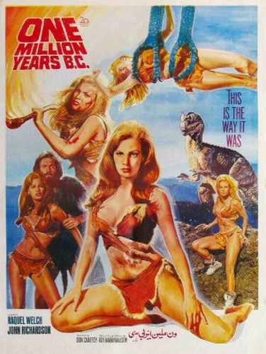ONE MILLION YEARS B.C.(1966) FILM POSTER 7