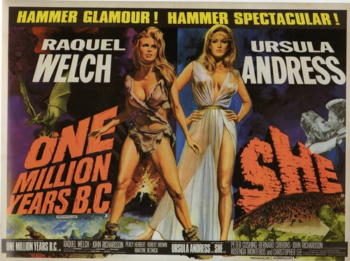 ONE MILLION YEARS B.C.(1966) FILM POSTER 8