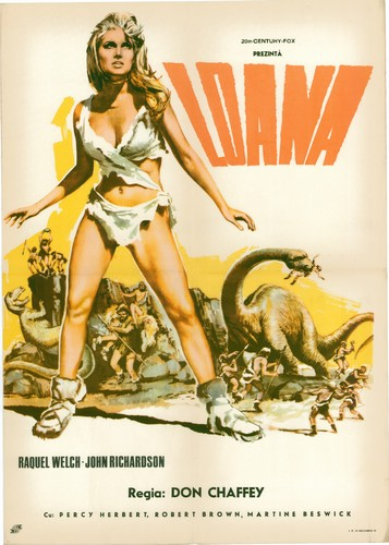 ONE MILLION YEARS B.C.(1966) FILM POSTER 9