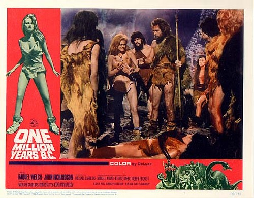 ONE MILLION YEARS B.C.(1966) LOBBY CARD 1