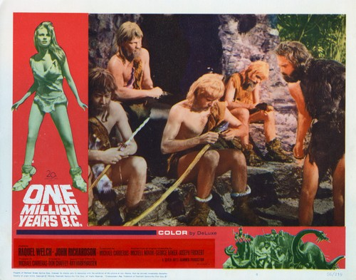ONE MILLION YEARS B.C.(1966) LOBBY CARD 2