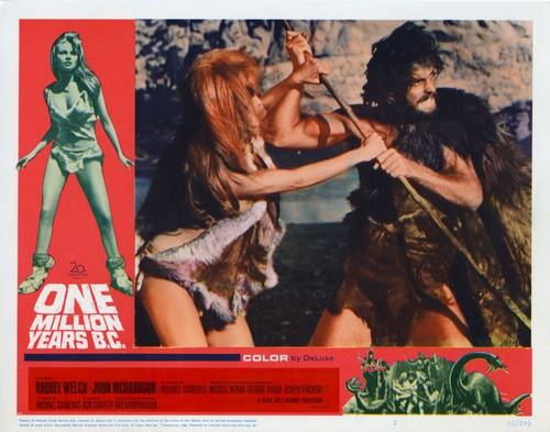 ONE MILLION YEARS B.C.(1966) LOBBY CARD 3