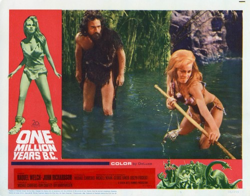 ONE MILLION YEARS B.C.(1966) LOBBY CARD 4