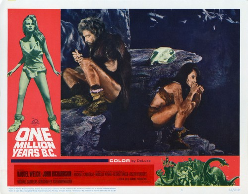 ONE MILLION YEARS B.C.(1966) LOBBY CARD 5